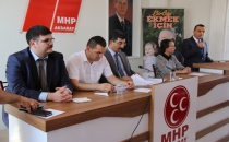 MHP Hastane İhalesi'ni sordu