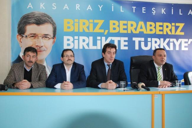 Aksaray Milletvekili A.Adayı Osman Bozkurt adaylığını açıkladı