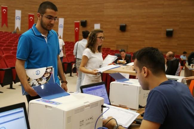 Toplam 4 bin 405 Öğrenci Kayıt Yaptırdı