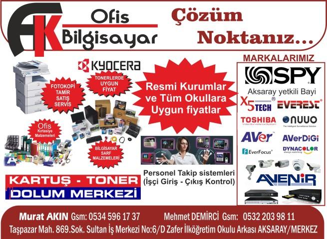 AK Ofis Bilgisayar ve Fotokopi Sistemleri