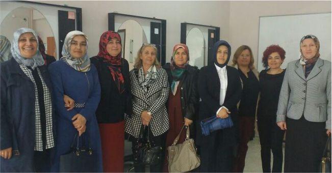 Kadın Platformu N.Mehmet Yazıcı Lisesini ziyaret etti
