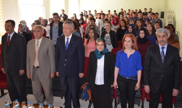 SGK'dan Ortaköy Meslek Yüksek Okulu' na seminer