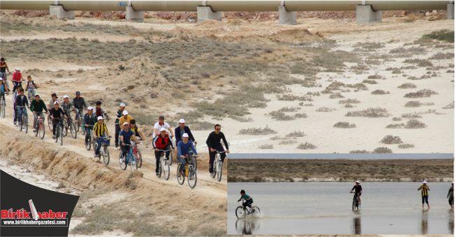 Birinci Tuz Gölü Bisiklet Şenliği Yapıldı