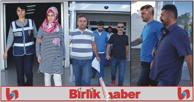 Aksaray'da 8 öğretmen gözaltına alındı
