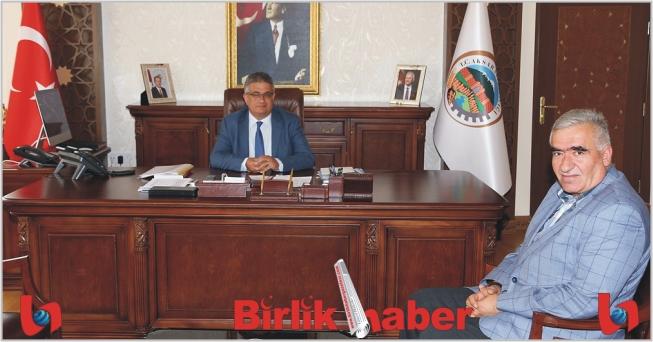 MHP İl Başkanı Kaşlı Vali Pekmez'i ziyaret etti