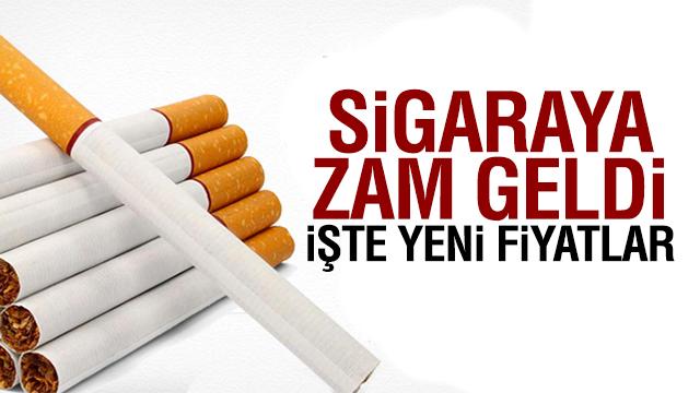 Sigaraya ne kadar zam geldi? 'İşte yeni fiyatları'