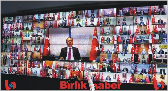 Cumhurbaşkanı Erdoğan, Aksaray valisiyle telekonferansla görüştü