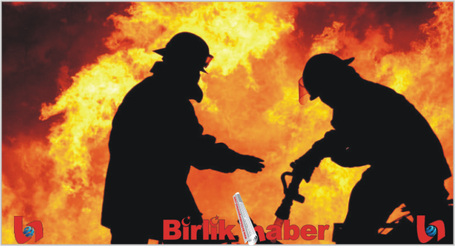 Ortaköy'de Ev Yangını