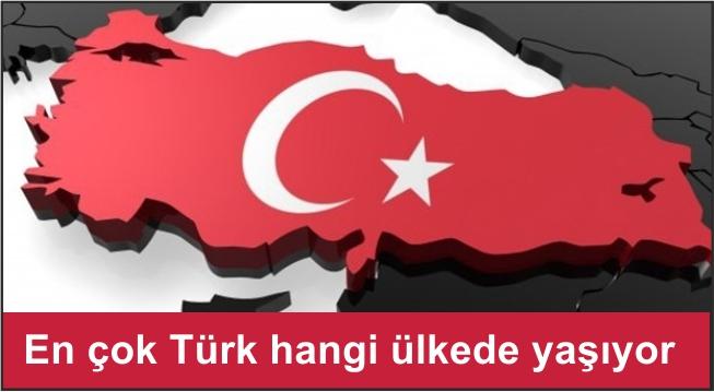 En çok Türk hangi ülkede yaşıyor