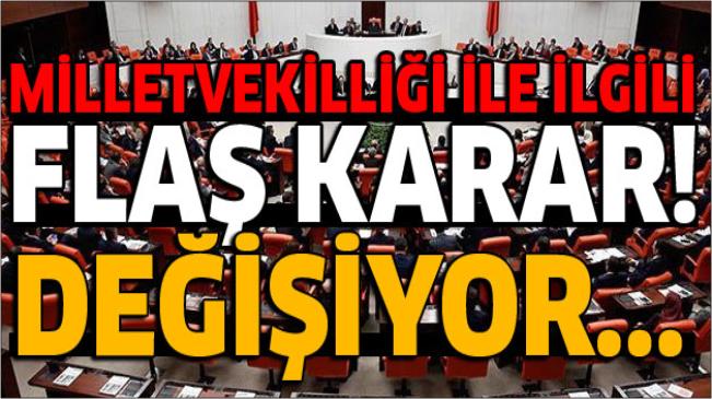 Aksaray'ın Milletvekili Sayısı tekrar 4'e Yükseldi