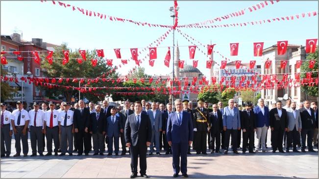 30 Ağustos Zafer Bayramı Aksaray'da Törenle Kutlandı