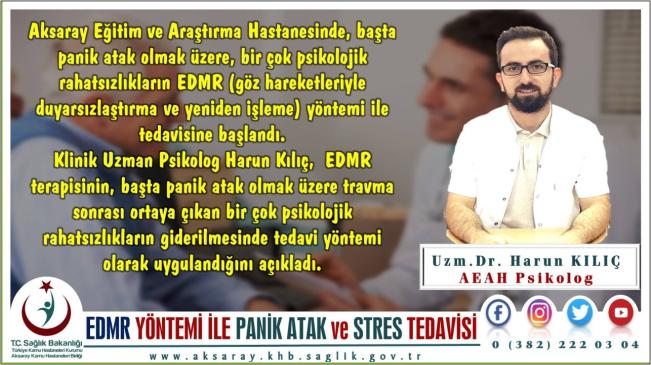 EDMR yöntemi ile panik atak ve stres tedavisi
