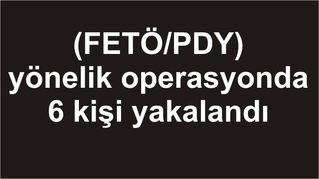 Aksaray Merkezli Fetö Operasyonu