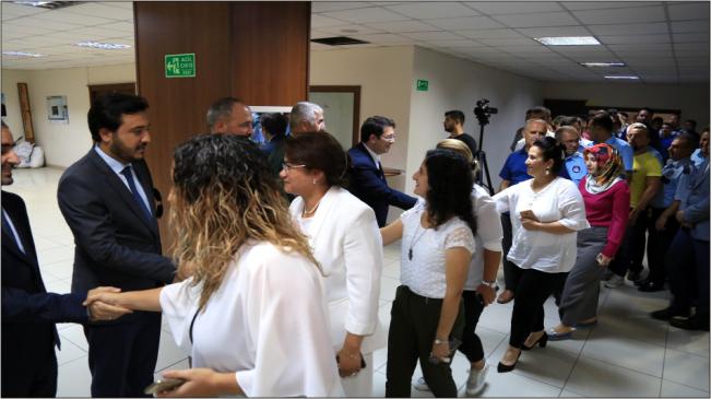 Başkan Yazgı Belediye Personeli İle Bayramlaştı