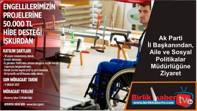 İŞKUR'dan Engelli Vatandaşlar İçin Seferberlik