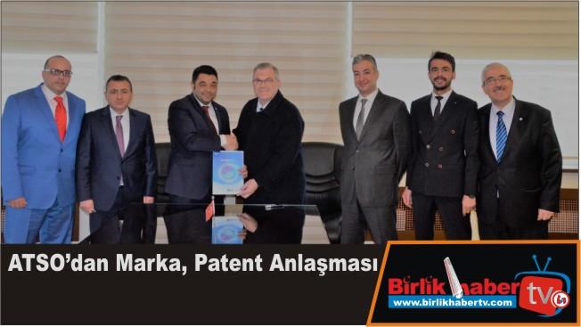 ATSO'dan Marka, Patent Anlaşması