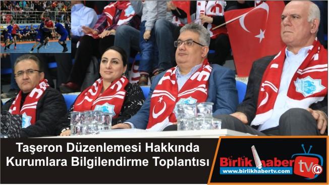 Hentbol Milli Takımımız Aksaray'da muhteşem bir atmosferde kazandı
