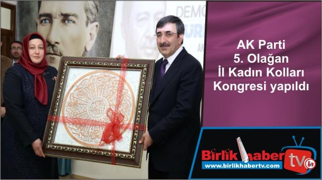 AK Parti 5. Olağan İl Kadın Kolları Kongresi yapıldı