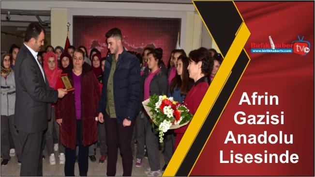Afrin Gazisi Anadolu Lisesinde