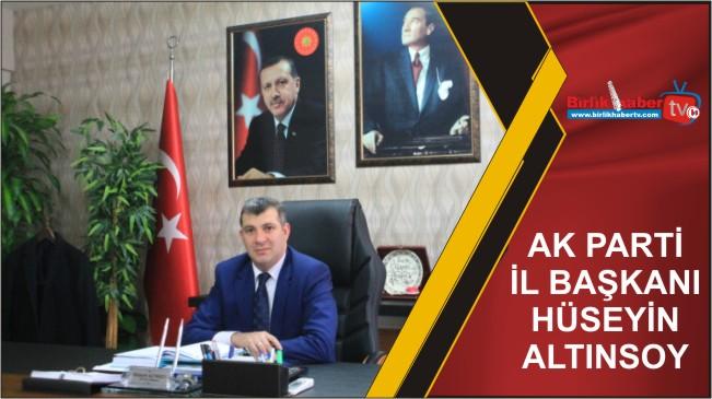 Altınsoy'un 14 Mart Tıp Bayramı Mesajı