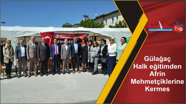 Gülağaç Halk eğitimden Afrin Mehmetçiklerine Kermes