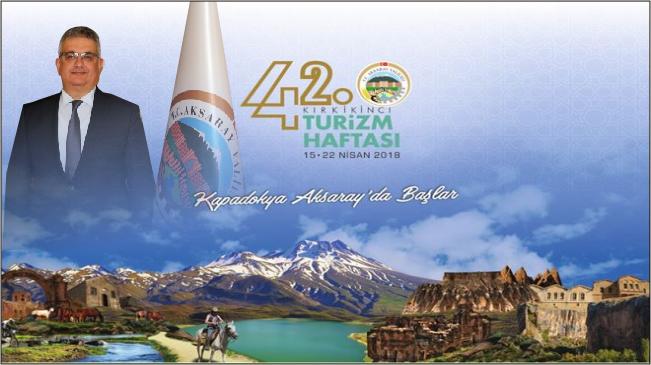 Vali Pekmez'in Turizm Haftası Mesajı
