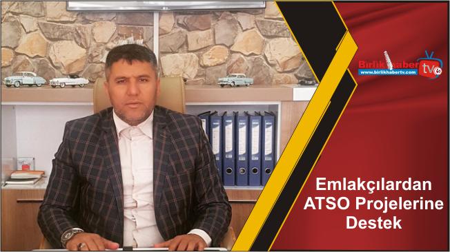 Emlakçılardan ATSO Projelerine Destek
