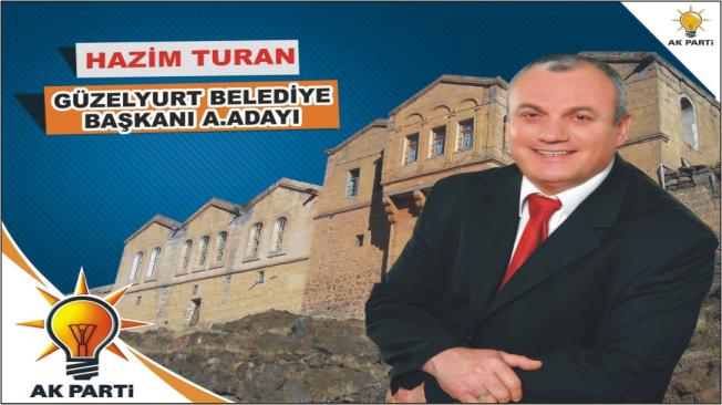 Hazım Turan, Güzelyurt Belediye Başkan A.Adayı oldu