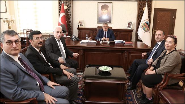 Nüfus ve Vatandaşlık İşleri Genel Müdür Yardımcısından Vali Pekmez'e ziyaret