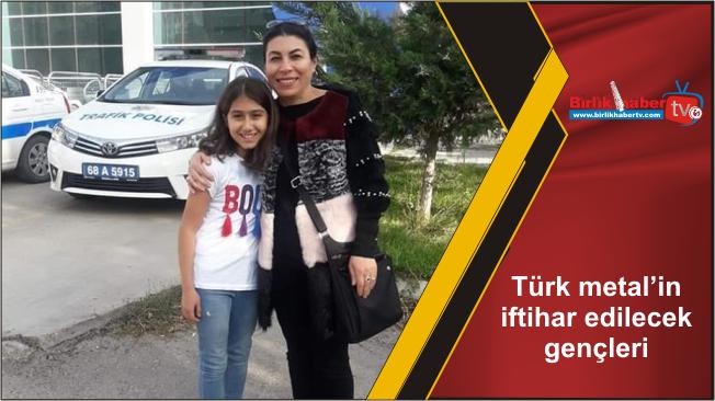 Türk metal'in iftihar edilecek gençleri