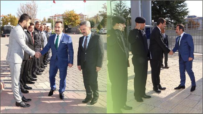 Vali Ali Mantı, Emniyet Müdürlüğü ile Jandarma Komutanlığını ziyaret etti