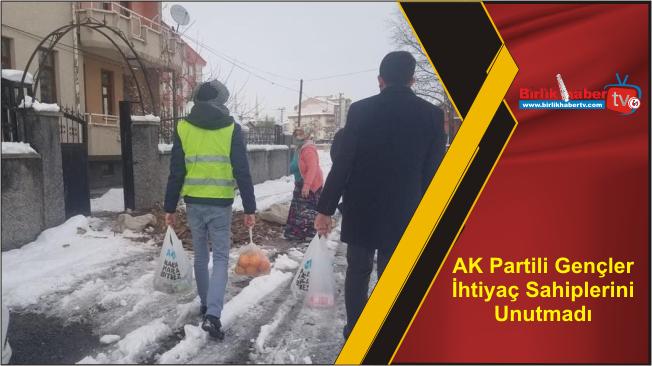 AK Partili Gençler İhtiyaç Sahiplerini Unutmadı