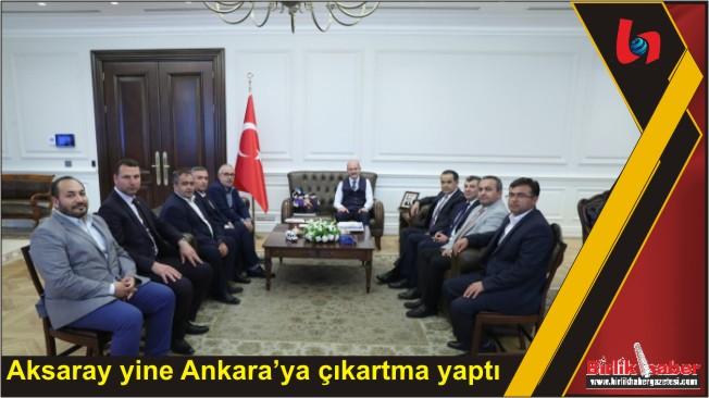 Aksaray Heyetinden Süleyman Soylu'ya Ziyaret