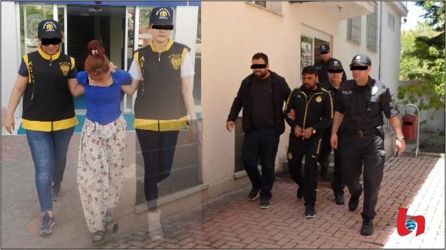 Aranan 4 şahıs yakalandı