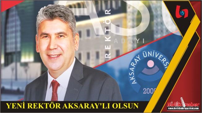 Hemşerimiz,  Prof Dr. Ünal Akdağ, Aksaray Üniversitesi Rektörlüğü'ne Aday….
