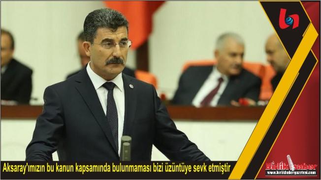 Milletvekili Erel, Kapadokya Alanı Kanun Teklifi hakkında Meclisde konuştu