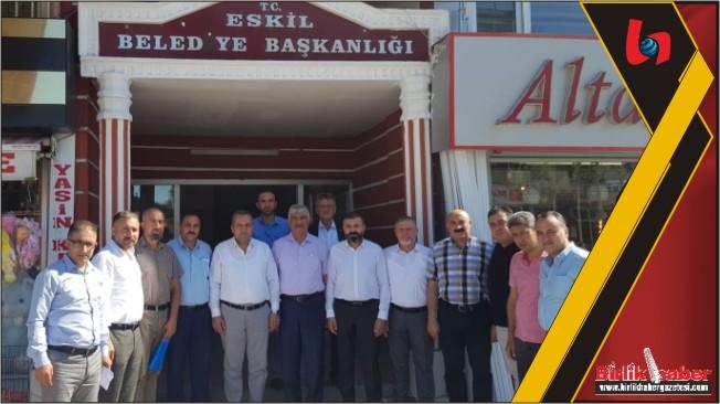ATSO Başkanlarından İlçelere Ziyaret