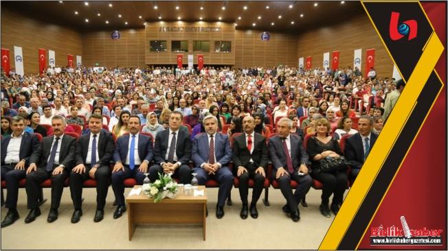 Bakan Ziya Selçuk, ASÜ'de Öğretmenlerle Buluştu