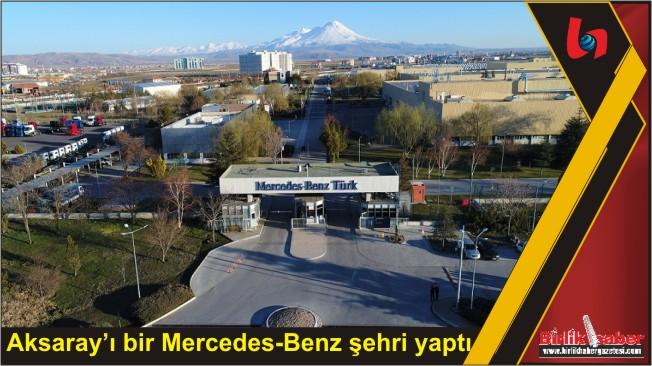 Mercedes-Benz Türk, 33 yılda 1,7 milyar TL'lik ekonomi yarattı