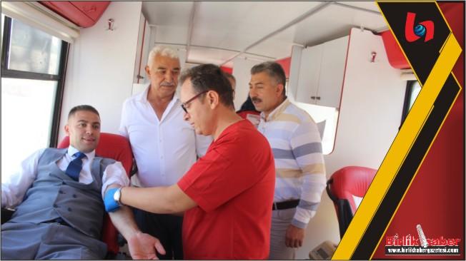 Kızılay Kan Toplama Aracı TOKİ'de