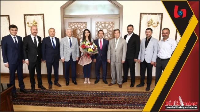 Veteriner Hekimler Birliği Konsey Başkanından Vali Ali Mantı'ya ziyaret