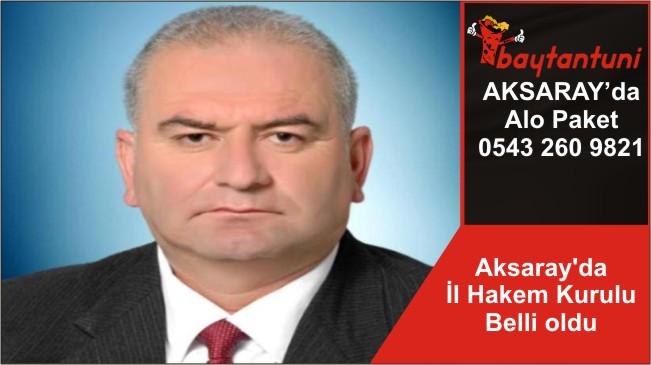 Aksaray'da İl Hakem Kurulu Belli oldu