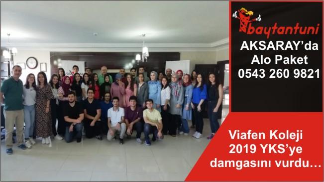 Viafen Koleji 2019 YKS'ye damgasını vurdu…