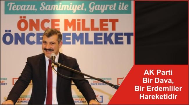 AK Parti Bir Dava, Bir Erdemliler Hareketidir