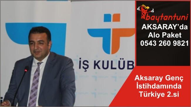 Aksaray Genç İstihdamında Türkiye 2.si