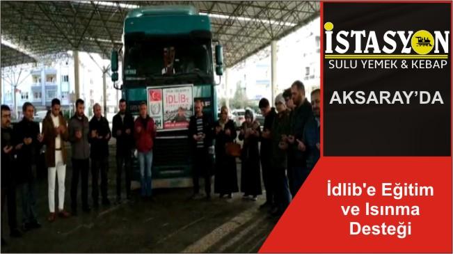 İdlib'e Eğitim ve Isınma Desteği
