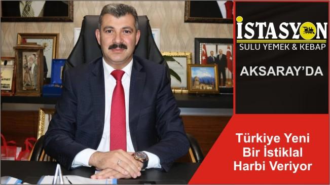 Türkiye Yeni Bir İstiklal Harbi Veriyor
