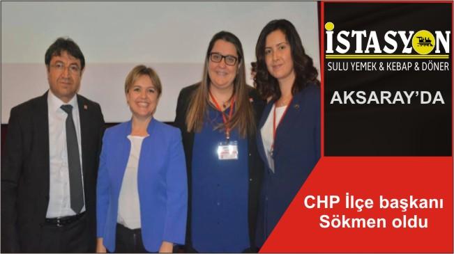 CHP İlçe başkanı Sökmen oldu