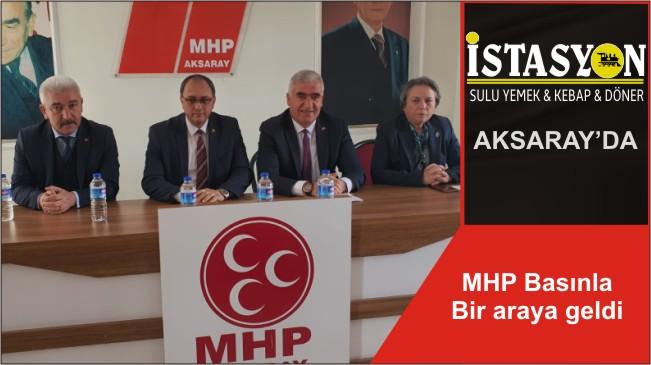 MHP Basınla Bir araya geldi