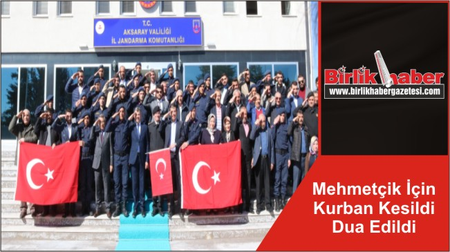 Mehmetçik İçin Kurban Kesildi Dua Edildi